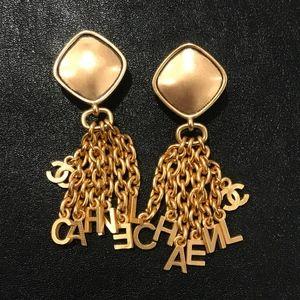 Vintage Chanel 95P Dangle Earrings